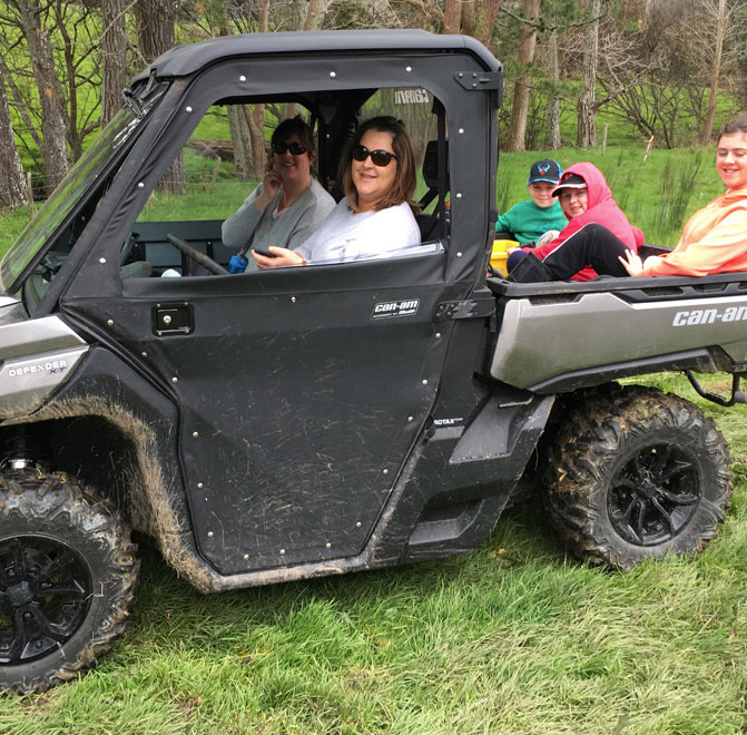 Maggie in the CanAm
